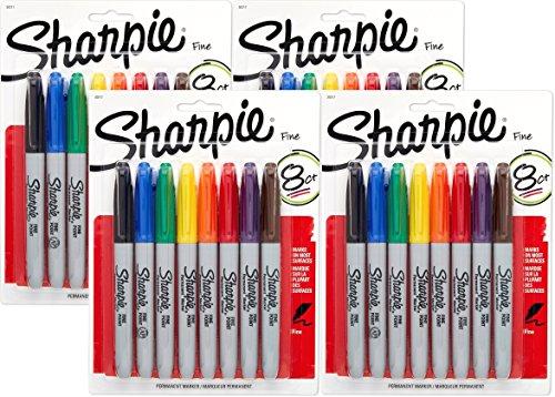 sharpie-marcador-permanente-punta-fina-colores-variados