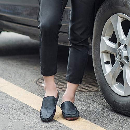 メンズ カジュアル サンダル かかとなし 包頭 スリッパ トレンド ファッション ドライビングシューズ 通気 滑り止め スリッポンシューズ 柔らかい 耐摩耗性 コンフォートシューズ 履きやすい 超軽量 紳士靴