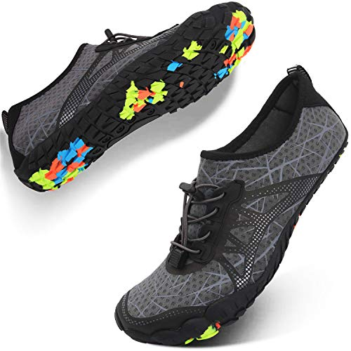 Spesoul Womens Mens Water Sports Shoes Outdoor Quick Dry Barefoot Athletic Aqua Shoe for Beach Swim Pool Surf Diving ()