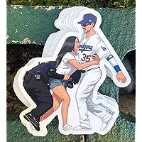 1 Bellinger Fan Love Baseball Sticker - One 5 Inch WaterProof Vinyl - Decal For Hydro Flask Skateboard Laptop etc