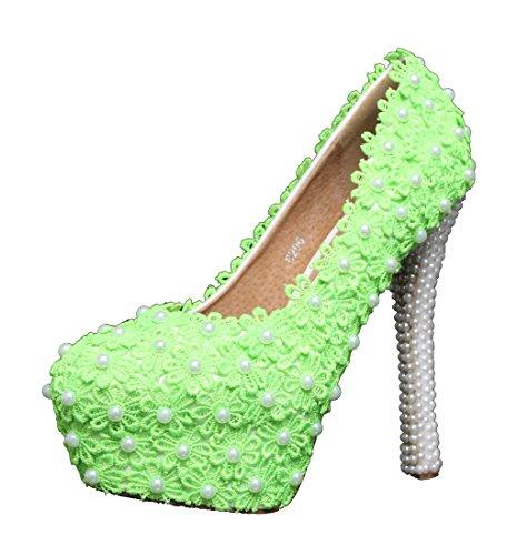 Green Compensée Heel Miyoopark 14cm Femme Semelle SvnfwaxqU