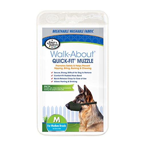 Four Paws Quick Fit Dog Muzzle, size 3