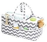 Kiddy Kaddy by Bubble Bug. Baby Diaper Caddy and Organizer / Premium Diaper and Storage Caddy Holds More Diapers Than Similar Products. Perfect for Nursery, Home, Car or Travel Organization.