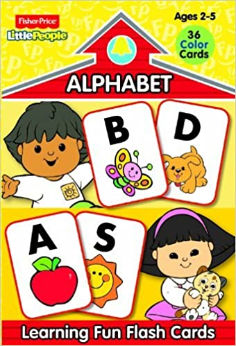 Fisher Price Little People Preschool Flash Cards-Alphabet by Modern Publishing (2012-12-15)