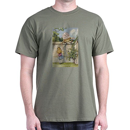 CafePress Alice and Humpty Dumpty - 100% Cotton - John Glasses Green Lewis