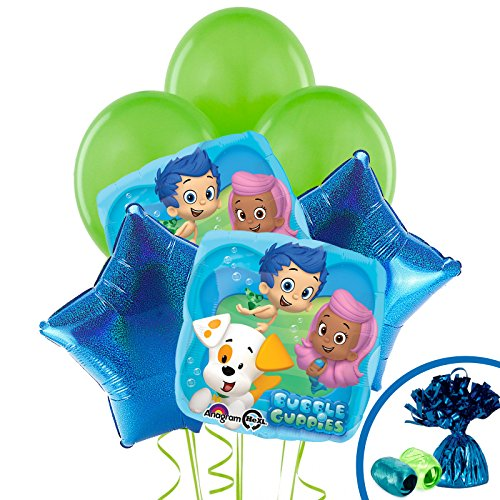 Birthday Express Kits Bubble Guppies Balloon Kit (Each) - Party Supplies -