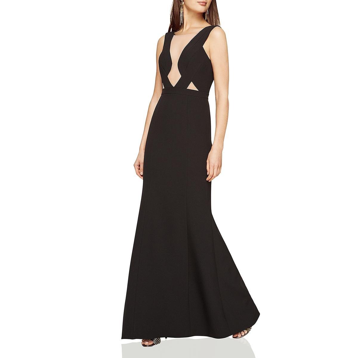 7ff6a180835 Amazon.com  BCBG Max Azria Womens Lulu Woven Sleeveless Formal Dress   Clothing