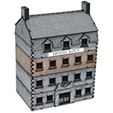 Europe At War - Buildings 15mm Grand Stone Hotel - Add-On (Pre-Painted)