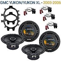 GMC Yukon/Yukon XL 2003-2006 OEM Speaker Upgrade Harmony R5 R65 Package New