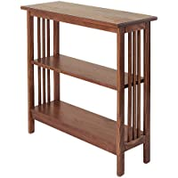Manchester Wood Mission 30 Bookshelf - Chestnut