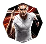 Miroslav Klose Custom Auto Foldable Sun Rain Anti-UV Umbrella Fashion Design