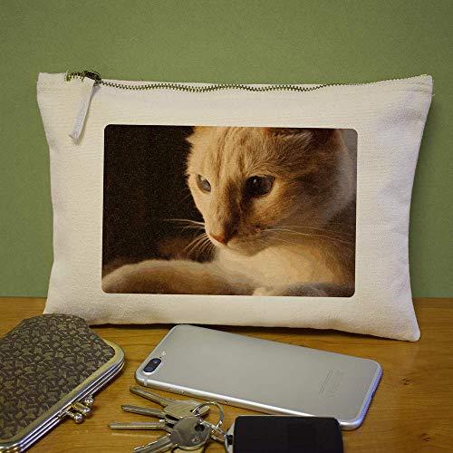 Azeeda custodia pochette per Face' 'Cat pochette Accessori cl00004553 56wgvqIZcZ