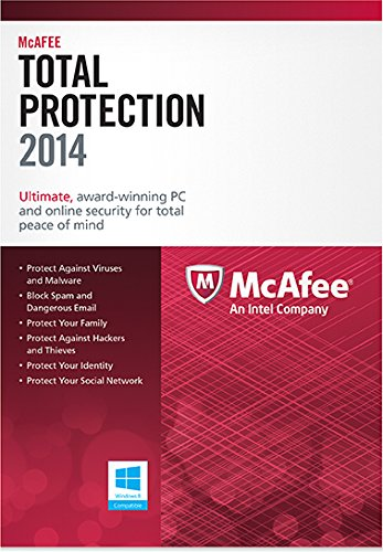 McAfee Total Protection 3PC 2014 [Online Code] (Mcafee Total Protection 3pc)