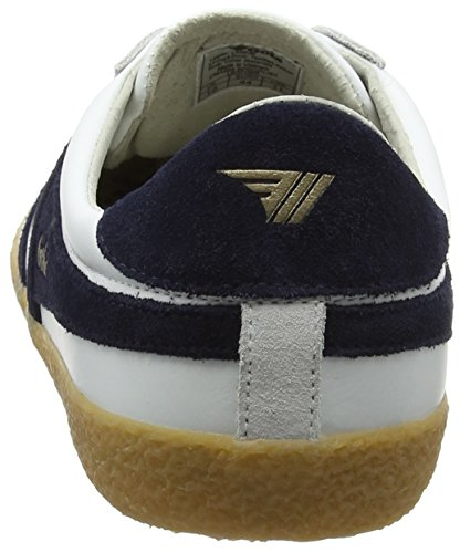 Blanc Leather Specialist White Gum Navy Baskets Gola Homme wSBaq5xII