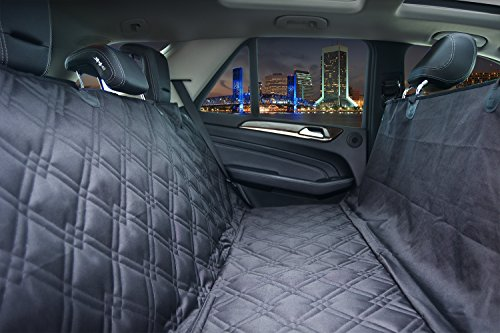 Bulldogology Premium Dog Car Seat Covers – Heavy Duty Durable Quality for Cars, Trucks, Vans, and SUVs (X-Large, Black) Review