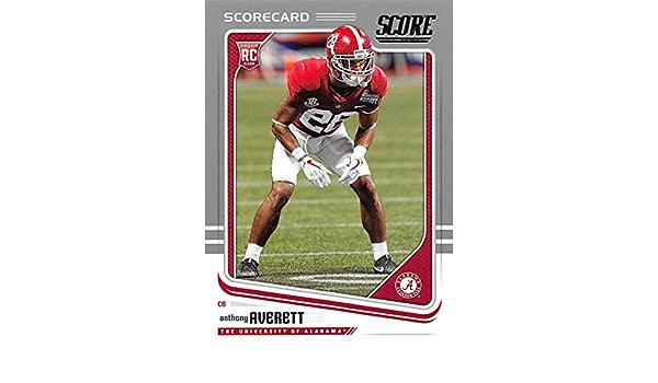 Amazon.com: 2018 Score Silver Scorecard #400 Anthony Averett ...