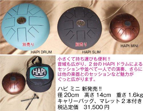 HAPI MINI Drum ケース&マレット付属 ハピ ミニドラム HAPI-MINI Dメジャー   B00DF24IQM