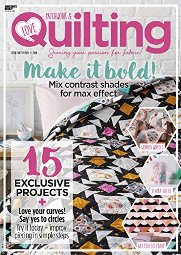 Love Patchwork and Quilting (Bindings Ltd)