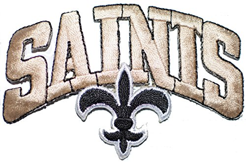 New Orleans Saints Embroidered Football - 1