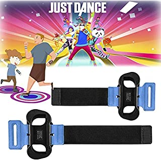 2 Pack Wrist Bands for Nintendo Switch Controller Game Just Dance 2020, Adjustable Elastic Armband for Just Dance 2020/2019/2018/2017, Wrist Strap for Joy-Cons Controller, Two Size for Adults and Children