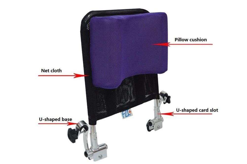 Sedie A Rotelle Schienale Alto : Poggiatesta per sedia a rotelle supporto per collo cuscino per