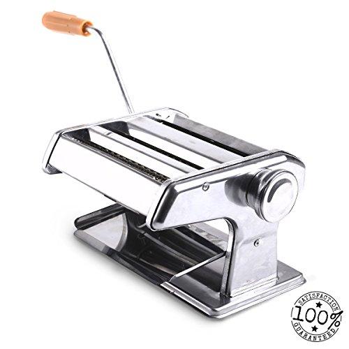 """150mm 6"""" Pasta Maker & Roller Machine Noodle Spaghetti&fettu"""