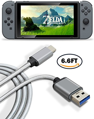 nintendo-switch-cable-usb-c-cable-titacute-66ft-reversible-type-c-cable-nylon-braided-rapid-charging