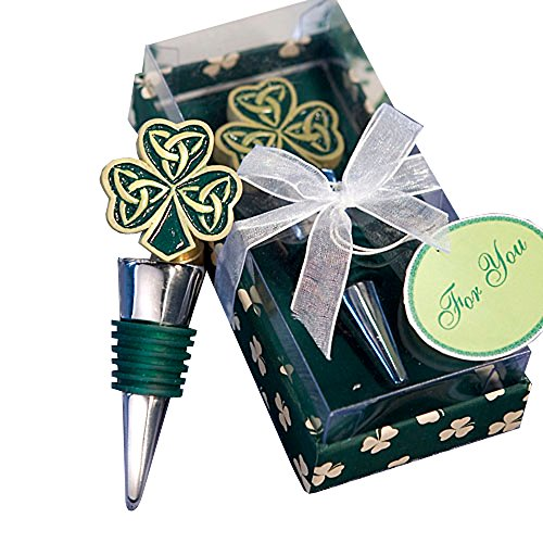 Shamrock Trinity Love Knot Bottle Stoppers (Set of 72) by Fashioncraft