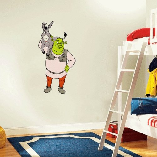Shrek Donkey Cartoon Wall Decal Sticker 13