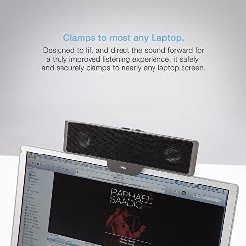 Slim computer speakers