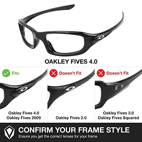 Verres pour de 0 rechange Fives Oakley 4 ffHaqgw