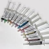 diamond polishing paste - 13 pieces Set of 5 gram Diamond Lapping Paste Polishing Compound Grits 0.25 to 40 microns
