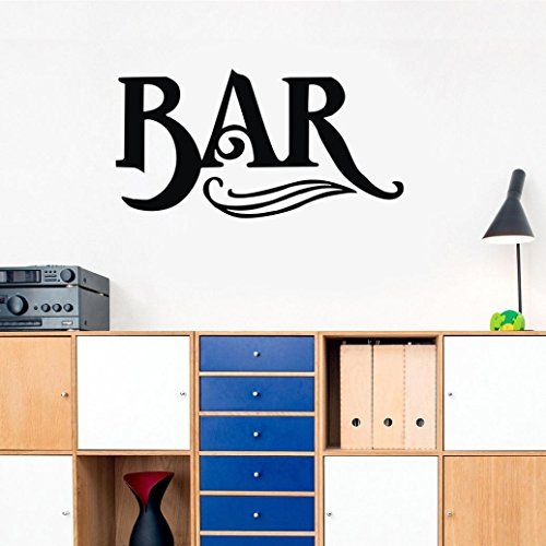 Wall Sticker, Yezijin Bar Removable Art Vinyl Mural Wall Decal Home Room Bedroom Living-Room Decor