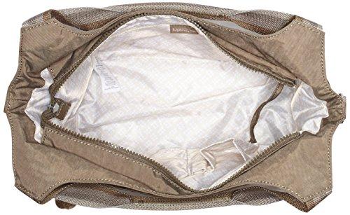 Kipling Damen Carola Henkeltasche, 31x30x14.5 cm Soft Earthy C