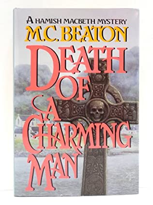 book cover of Death of a Charming Man