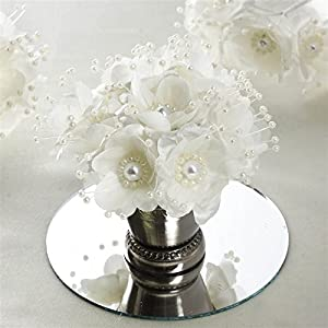 Faux Pearl Decor Flower Braids Corsage Boutineer Craft - Ivory 110