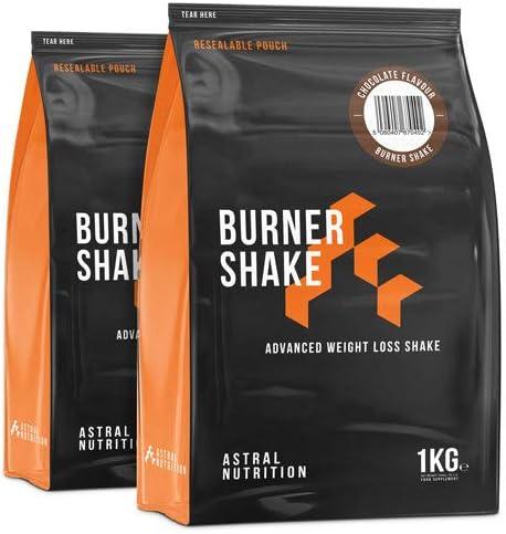 Burner Shake - Fettverbrennung Gewichtsverlust Shake | Trägt zum Stoffwechsel | Unterdrückt Appetit | Fortschrittliche Formel