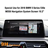 LFOTPP Compatible Tempered Glass Navigation Infotainment Center Touch Screen Protector Replacement for 2018 BMW 5 Series G30 530e M550i 10.2-Inch Screen, If Applicable