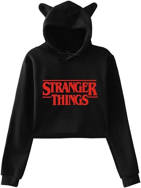 EMILYLE Herren Kapuzenpullover mit Stranger Things Eleven