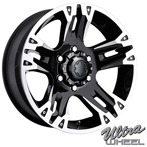 Ultra 235B Maverick 18×9 6×139.7 +25mm Gloss Black Wheel Rim