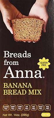 Breads from Anna Gluten & Allergen-Free Baking Mixes Banana Bread Mix 14 oz. (a)