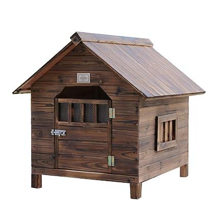 Canastilla para perros al aire libre Jaula Caseta para perros Casa de mascotas Nido Casa para