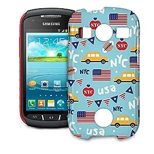 Phone Case For Samsung Galaxy S7710 Xcover 2 - The Big Apple New York USA Designer Lightweight