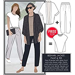 Style Arc Sewing Pattern - Besharl Outfit (Sizes 04-16) - Click for Other Sizes Available