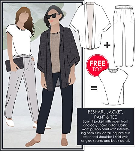 Style Arc Sewing Pattern - Besharl Outfit (Sizes 04-16) - Click for Other Sizes Available -