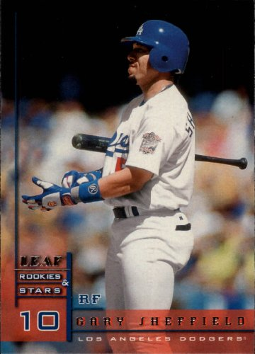 (1998 Leaf Rookies and Stars Baseball Rookie Card #9 Gary Sheffield )