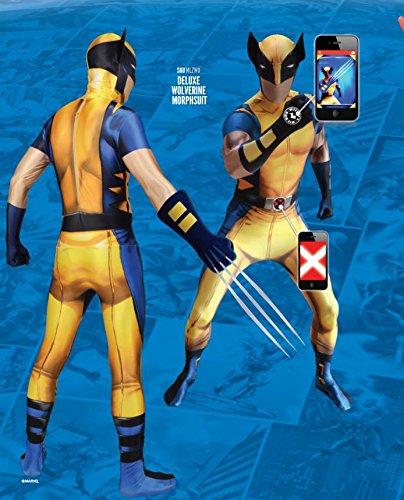 Morphsuits Wolverine Zappar Morphsuit Adult (xxl) -