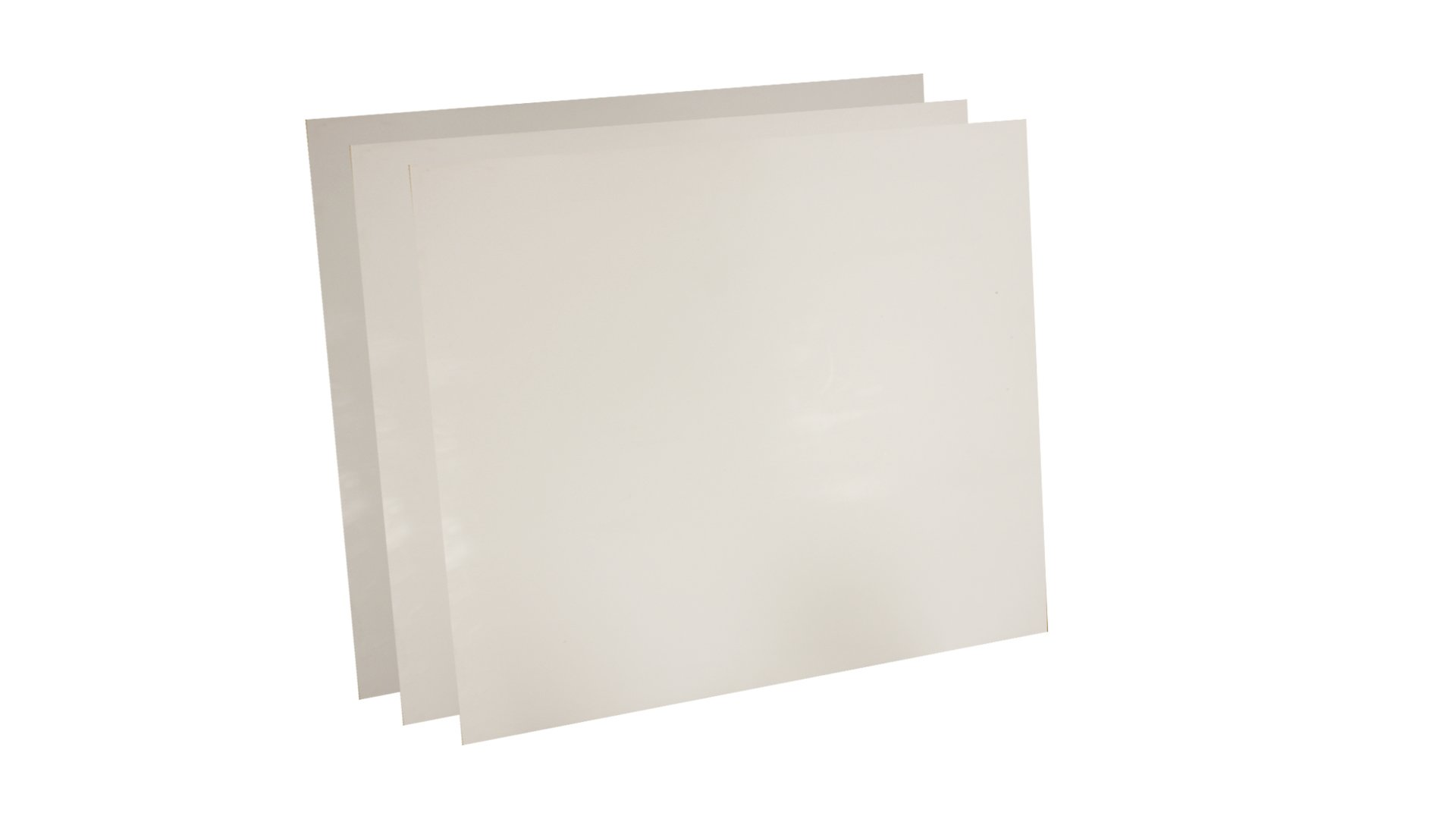 Sterling Seal 7530.5024x24x3 7530 Virgin Teflon Sheet, 1/2'' Thick, 24'' x 24'' (Pack of 3)