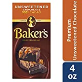 Baker's, Unsweetened Chocolate, 4 oz
