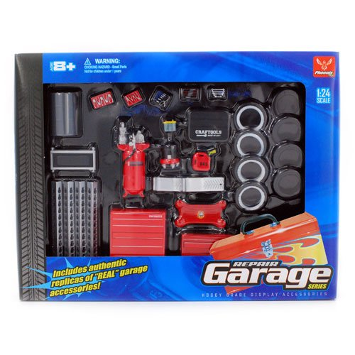 Repair Garage Set (Car Accessories Nascar Gear)